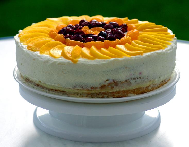 Obst Sahne Torte Gamina Art